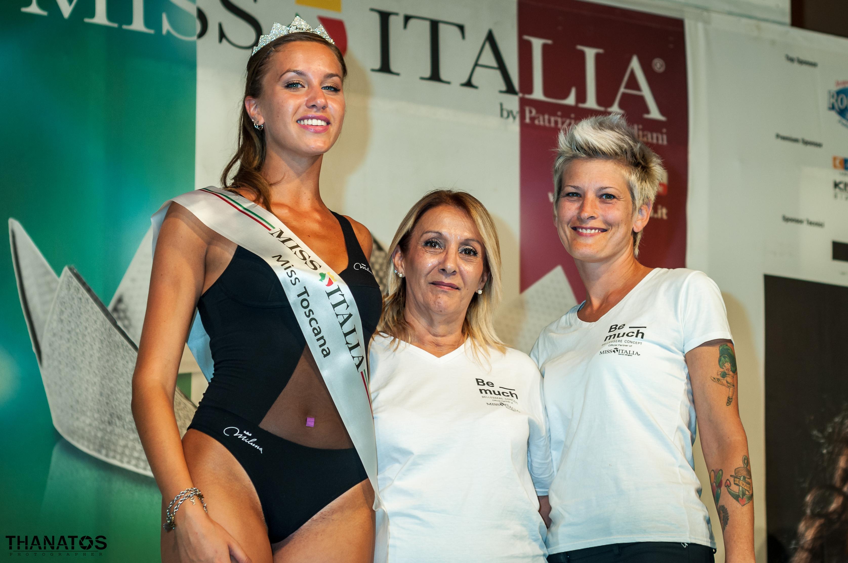 Miss Toscana 2019, Chiara Gorgeri assieme a Veronica e Sara