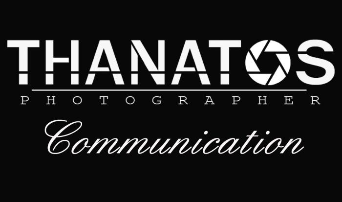 Copertina thanatos photographer fashion communication