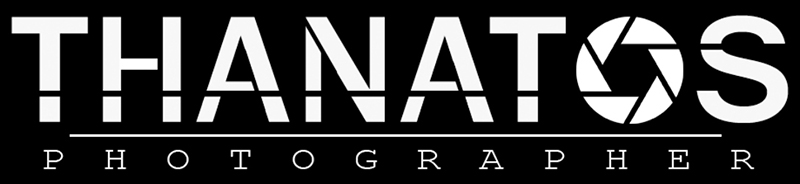 logotipo thanatos photographer, Boudoir Photography e Fashion Photography